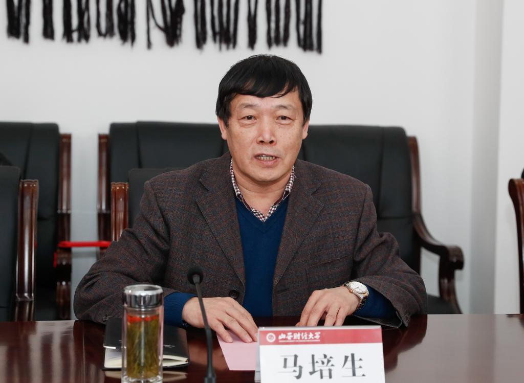 太原科技大学副校长王枝茂一行莅临我校考察交流