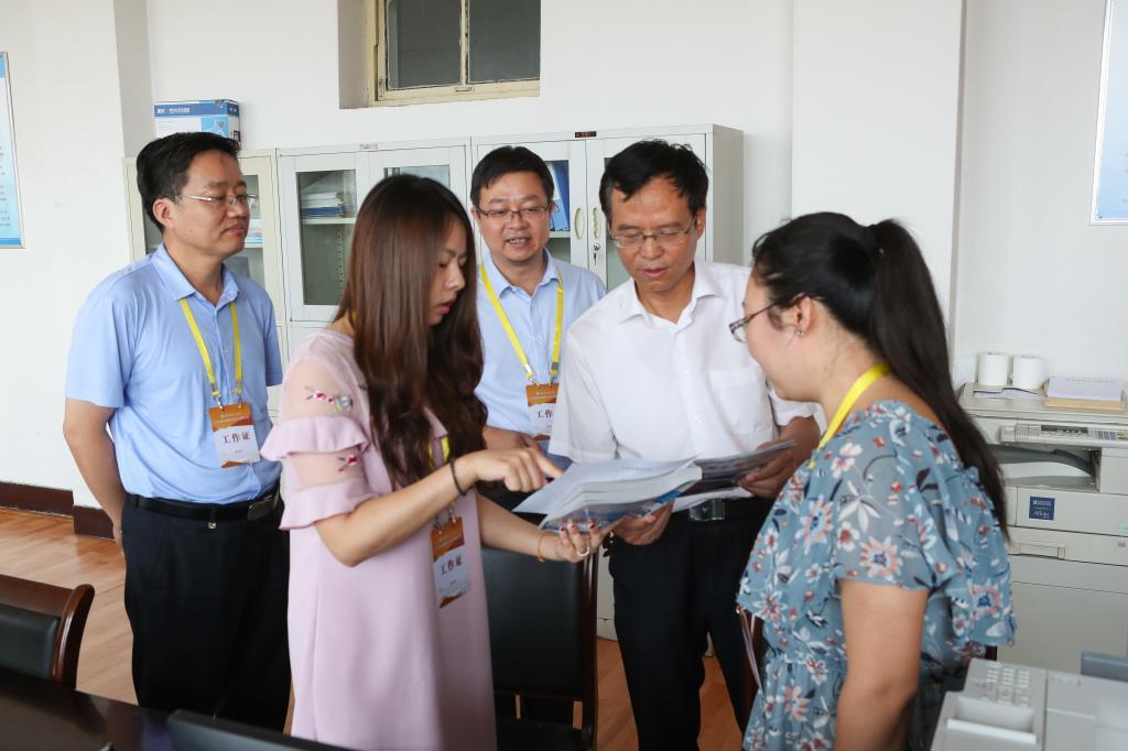 党委书记尹天五现场指导我校2018年普通本科招生录取工作